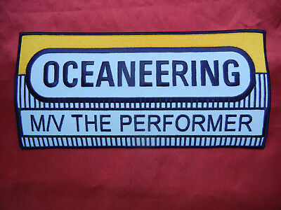 OCEANEERING Oilfield Patch Jacket size 5 X 10 NEW