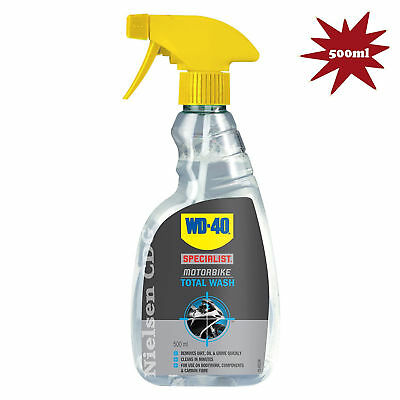 WD40D Specialist Motorbike Total Wash Versatile Cleaner For The Whole Bike 500ml