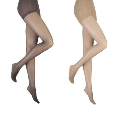 13b1f5833f1 Women s 15 Denier Sheer Firm Support Tights Ladies Firm Compression Tights