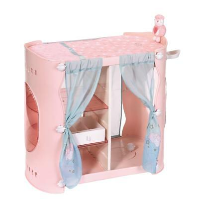 Baby Annabell Sweet Dreams 2-in-1 Cupboard Dollhouse Furniture for Dolls AB 3 J