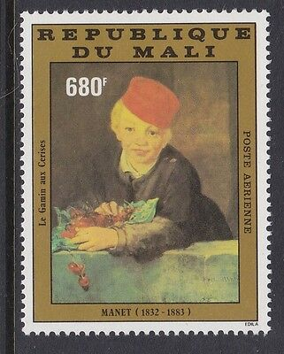 Mali 1982 Air 150th birth anniv Manet complete mint issue sg944