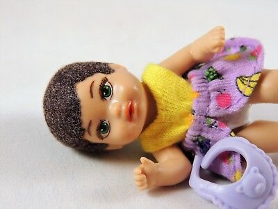 """Reece"" Barbie Career Babysitter Twin Baby Krissy Boy or Girl Repaint OOAK Doll"