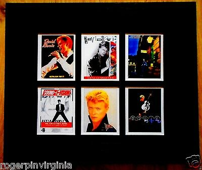 ZIGGY STARDUST  - 6 REPRODUCTION PICTURES IN FRAMES (2 Pictures of 6 AVAILABLE)