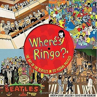 Where's Ringo?: The Story of the Beatles in 20 Visual Puzzles hardcover activity