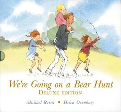 We're Going on a Bear Hunt by Michael Rosen * DELUXE EDITION * Hardback AS NEW