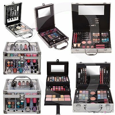 Technic Cosmetic Beauty Vanity Case Make Up Storage Box Ladies Xmas Gift Set