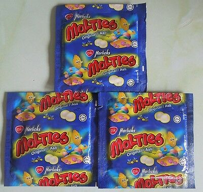3 PACKS Of The Original Horlicks Tablets Sweets, Malties, Old Childhood Memories
