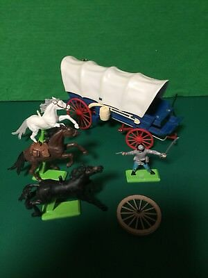 Britains Deetail Covered Wagon And Other Items For Spares Good Condition