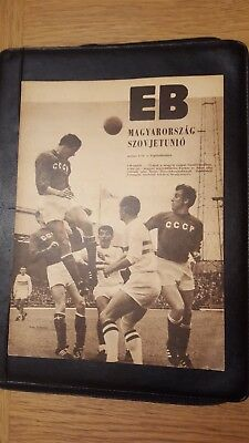 1968 Hungary vs Soviet Union Russia USSR Euro '68 Quarter-final in Budapest!