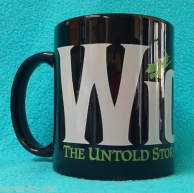 Broadway WICKED Mug~The Untold Story of the Witches of Oz~Musical~Coffee Cup~EUC