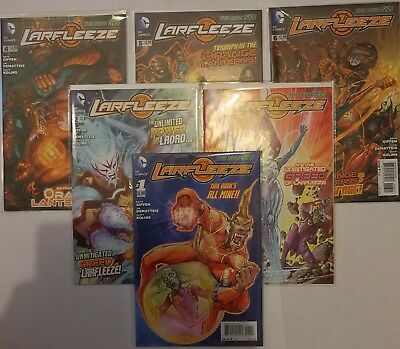 NM New 52 - Larfleeze Issues 1-6 - First Editions