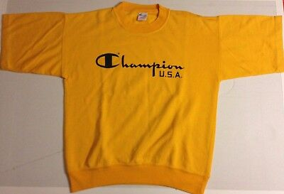 Sweat Manches Courtes Champion Usa Vintage
