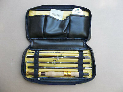 Martin Fly Wate- travel fishing rod- convertible Spinning or Fly-  New with case
