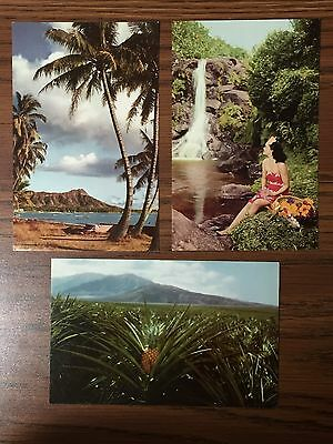 VINTAGE Postcards - Hawaii - 3 Cards - See Hawaii with Union 76! (0227MT)