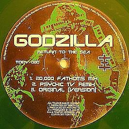 Godzilla - Return To The Sea - Temple Records - 1994 #741603