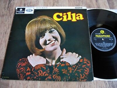 CILLA BLACK, SELF TITLED DEBUT ALBUM, ORIGINAL 1965 UK PARLOPHONE LP, 1960s POP