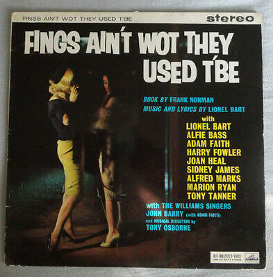 JOHN BARRY/LIONEL BART Fings Ain't Wot They Used T'Be RARE STEREO UK Import LP