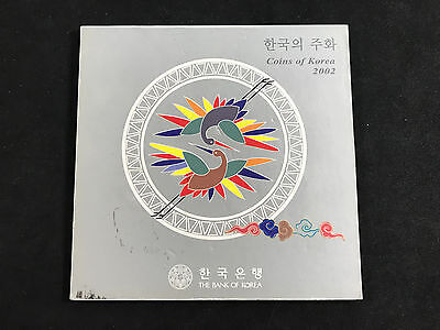 2002 South Korea - Bank Of Korea Original Mint Coin Set