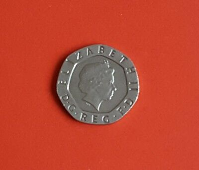 Good condition Undated 20p mule coin 2008 Rare royal mint error Sealed collector