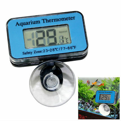 Digital LCD Waterproof Fish Aquarium Water Tank Temperature Thermometer Meter-UK