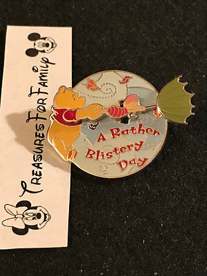 Disney Pin Winnie the Pooh MMM #50 A Rather Blistery Day ERROR FREE SHIP