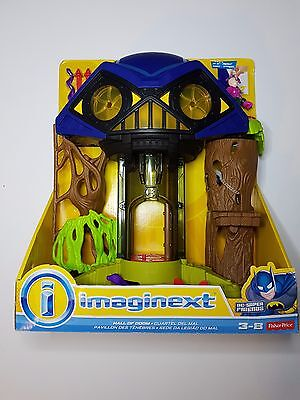 Fisher-Price Imaginext Hall Of Doom Dc Super Friends Free Shipping