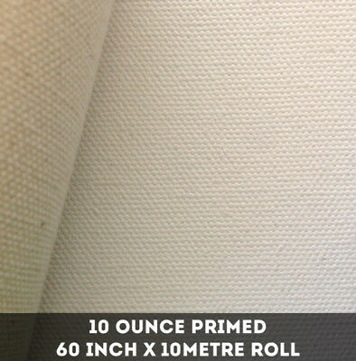NEW 10oz 60`` x 10 metre roll - Double Primed