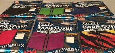 Jumbo book covers 10X15 inch books:  Color Black or Blue