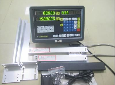 NEW 2 Axis digital readout Display for milling lathe machine with linear scale
