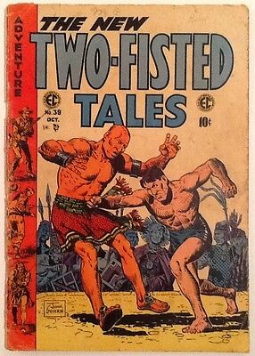 Two-Fisted Tales #39 G 2.0 1954 Ec Comics Severin Cover & Art