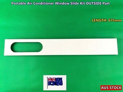NEW Portable Air Conditioner Spare Parts Window Slide Kit OUTSIDE Part Only