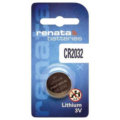 Renata Cr2032 3V Lithium Battery Swiss Made  Exp: 04/23
