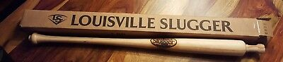 Extremely rare authentic Louisville Slugger Factory misprinted bat (made in usa)