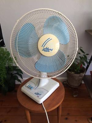 Retro Vintage Linda Island Breeze 90 Table Room Fan