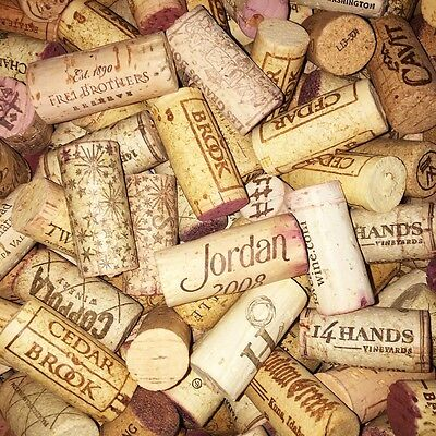 300 Used Wine Corks no Champagne or synthetic cork Red White Christmas Gifts