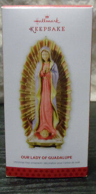 Hallmark Keepsake Christmas Tree Ornament 2013 Our Lady of Guadalupe in Box