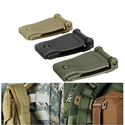 New Backpack Bag Webbing Connecting Buckle Clip Outdoor Tools/ HOT 5 Pcs