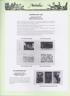 NEW - 1995 Seven Seas Australian Hingeless Pages