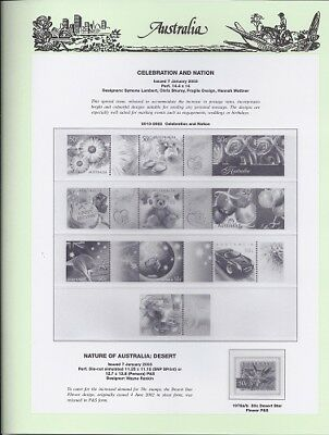 NEW - 2003 Seven Seas Australian Hingeless Pages