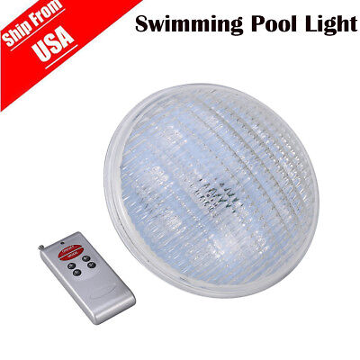 Swimming Pool Spa LED Underwater Light RGB Multi Colour Retro + Remote Control