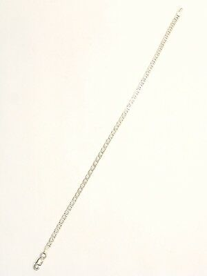 "Elegant  ""Anchor Design"" Estate Chain .925 Sterling Silver"