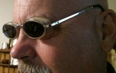 Vintage Safety Glasses Goggles Motorcycle Driving Steampunk shooting