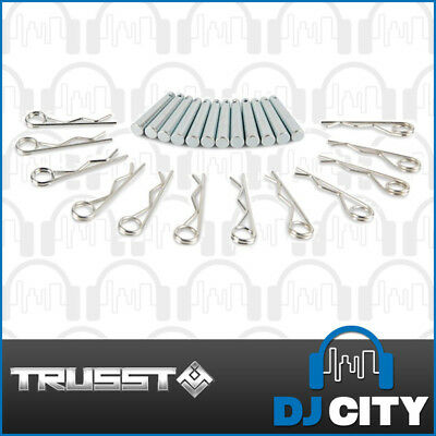 Trusst CT-Pin12 Spigots and Safety Pin (12 Pack)