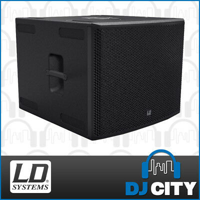 "LD Systems StingerSub18A G3 Powered 18"" PA Subwoofer with DSP & 1600W Power Amp"