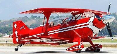 Aviat Pitts S2-C Special Aerobatic S2 Airplane Wood Model Free Shipping Regular