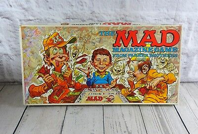 Vintage Mad Magazine Board Game 1979 Parker Brothers