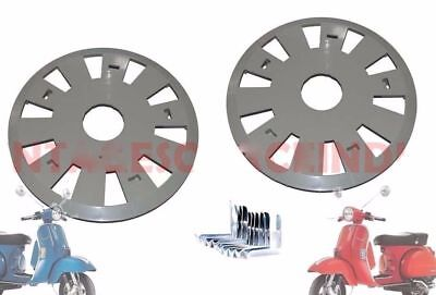 Vespa Px Lml Nv Stella Wheel Disc Set Wheel Cap Set With Clips @de