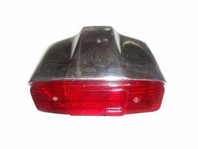 Lambretta Rear Brake Lamp Taillight Alloy Polished Li 150 Series 1 2 3  @de