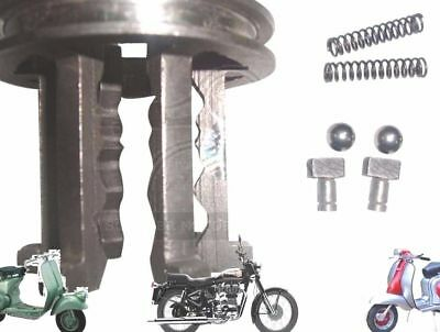 Lambretta Gear Selector Sliding Dog With Free T Pins And Spring Balls @de