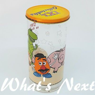 "IXL Collectables LIMITED EDITION Glass w Lid DISNEY/PIXAR ""TOY STORY"" (4 OF 4)"